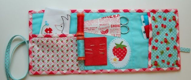 Patchwork Sewing Kit #sewingkit #sewing