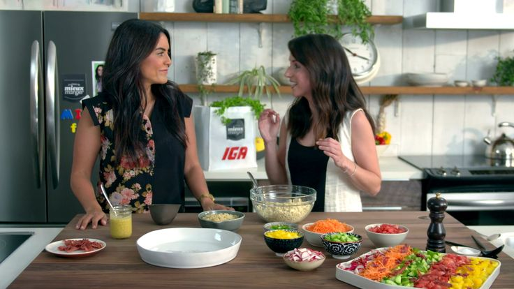 Minutes futées: Salade colorée de quinoa