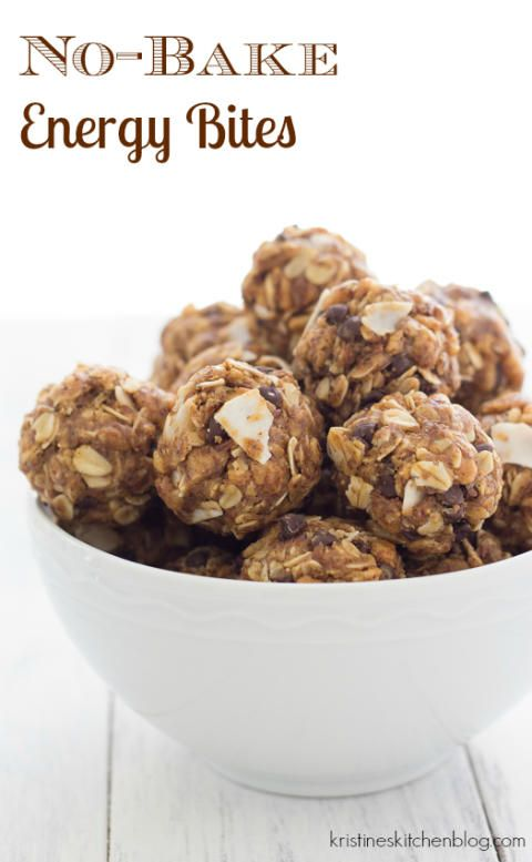 No-Bake Energy Bites - the perfect snack for adults and kids ...