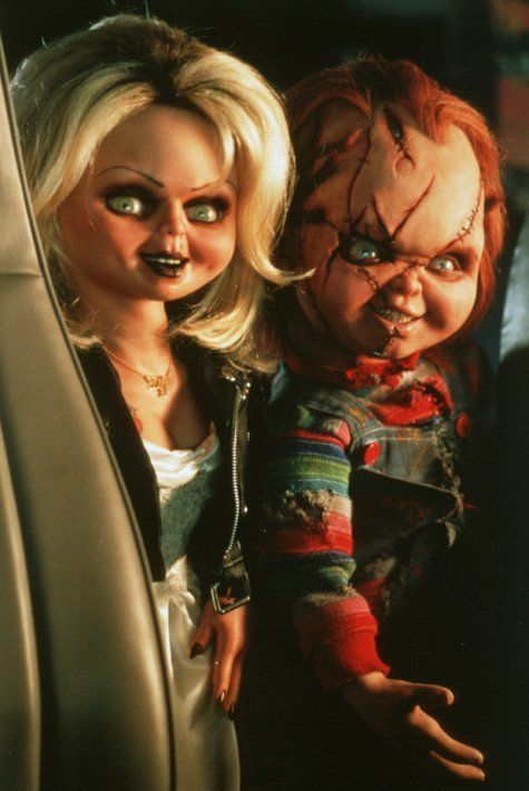 Bride of Chucky #Chucky #Tiffany for like Chucky Chicken MOFO Charles as Kakoli lol