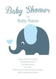 Image result for baby shower elephant template