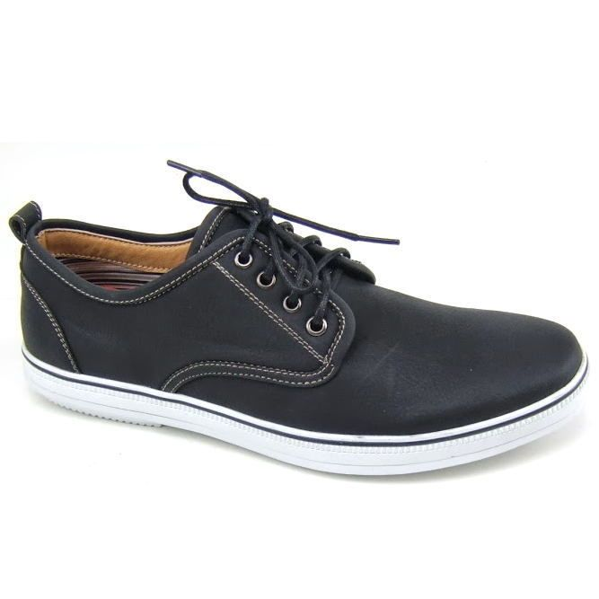 Mens Lace Up Fashion Sneakers Casual Shoes Low Top Vulcanize Sole Skater  Oxfords