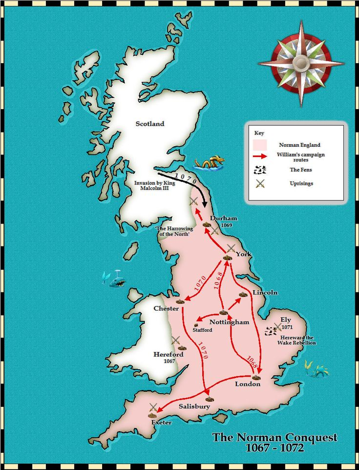 TimeRef - Medieval and Middle Ages History Timelines - Norman Conquest