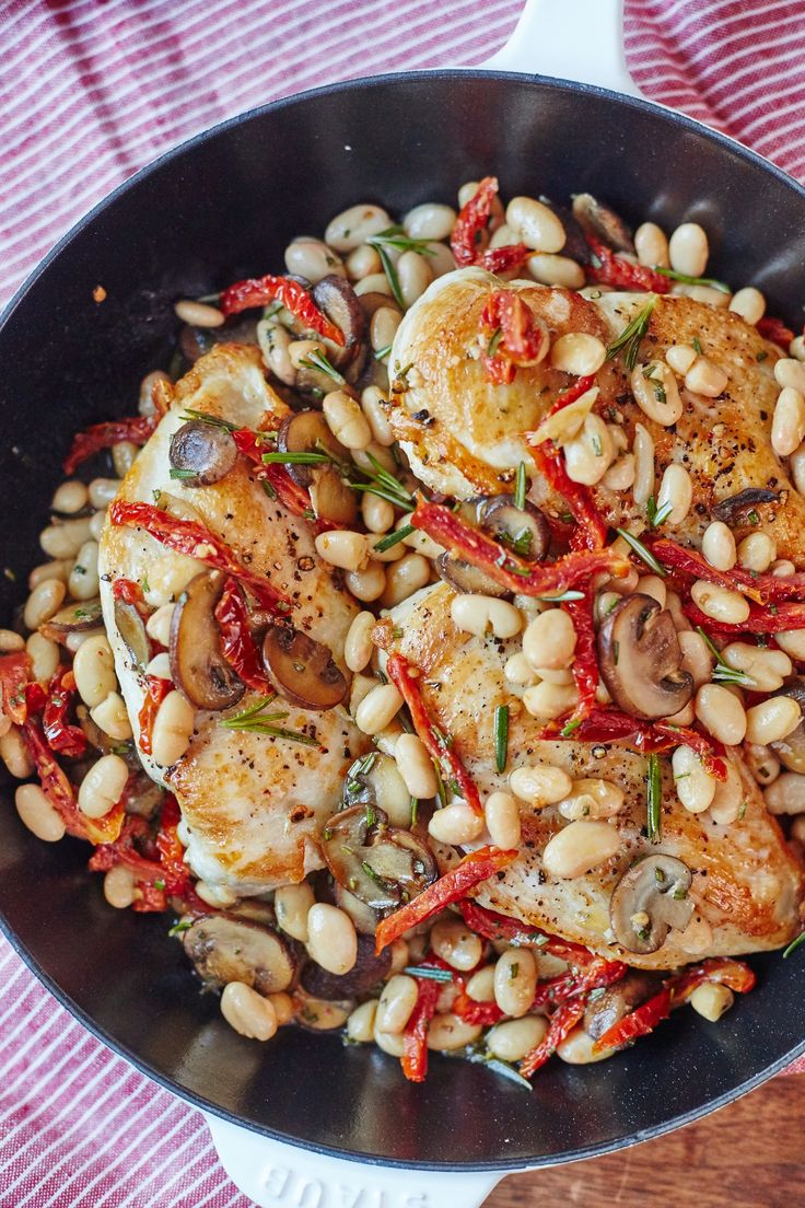 Recipe: Tuscan Chicken Skillet — Quick and Easy Weeknight Dinners