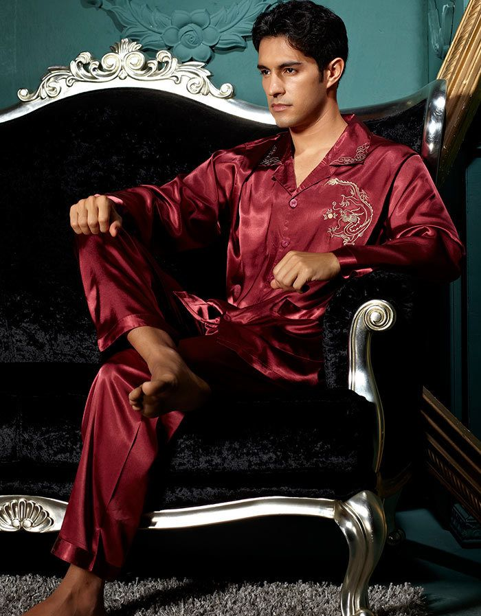 25  best ideas about Silk pajamas for men on Pinterest | Men's ...