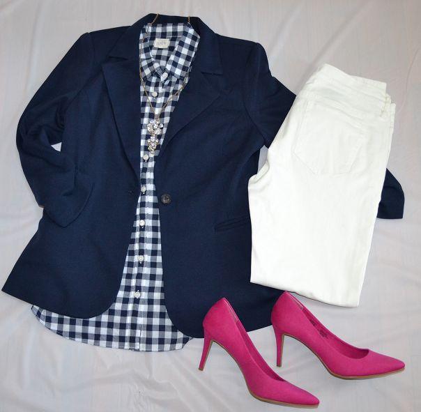 Classy Yet Trendy: How To Wear a Navy Blazer 4 Ways