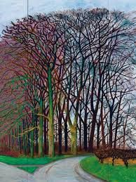 david hockney and trees - Google Search