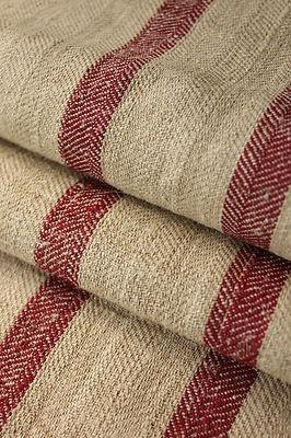 Wonderful , heavy hemp ~ homespun European feedsack ~ grain sack! Lovely deep tones ~ from The Textile Trunk ~  www.textiletrunk.com