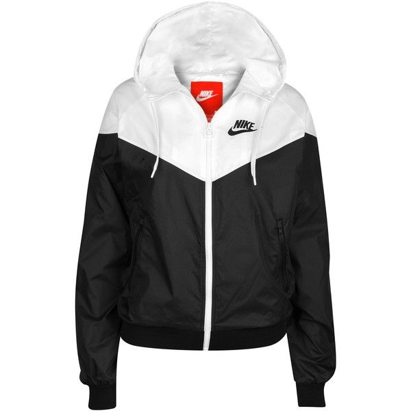 Nike Windrunner Jacket Women's ($85) ❤ liked on Polyvore featuring tops, nike, jackets and outerwear