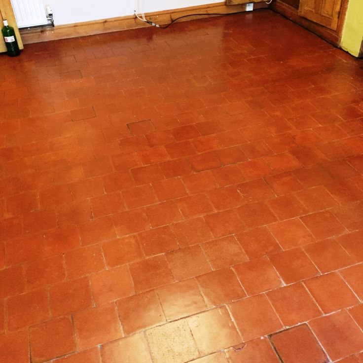 Here's an interesting job I recently completed for a client in the historic city of Worcester. My client had two tiled floors in her house that were in dire need of restoration. They were located in the hallway and dining room of the house, and were a mix of Quarry tiles, with some believed to be over a century old.