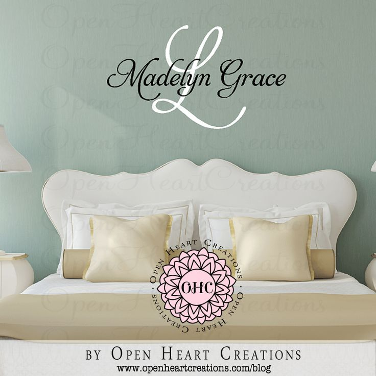 Best Open Heart Creations Wall Decals Images On Pinterest - Personalized custom vinyl wall decals for nurserypersonalized wall decals for kids rooms wall art personalized