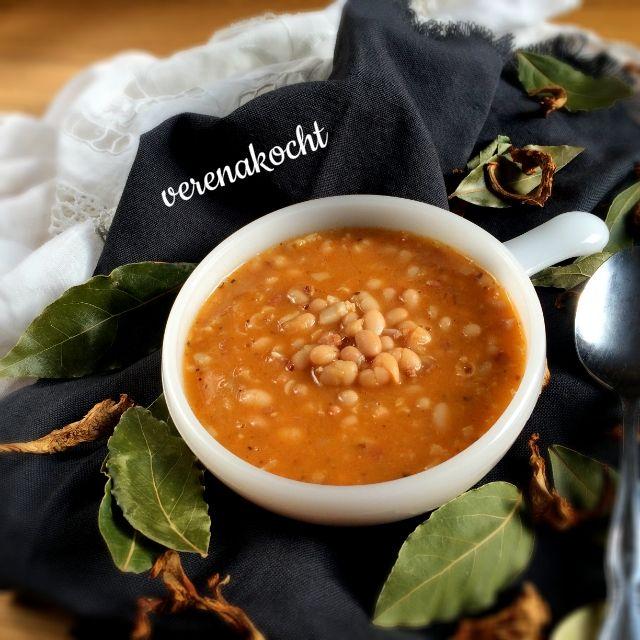 17 beste ideer om Serbische Bohnensuppe på Pinterest Bohnensuppe - serbische küche rezepte