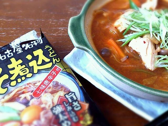 この夏、名古屋のコンビニで買ったヤツ。季節到来ってコトで。 - 18件のもぐもぐ - 味噌煮込みうどん(キムチ味) by petitenYOS
