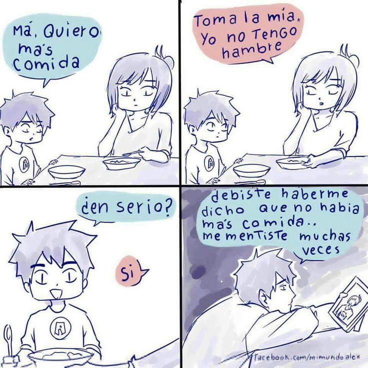 Mami !! ☹️ me recuerda a mi mejor amigo
