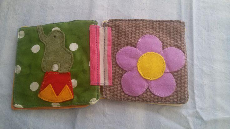 Libro di stoffa per bambini