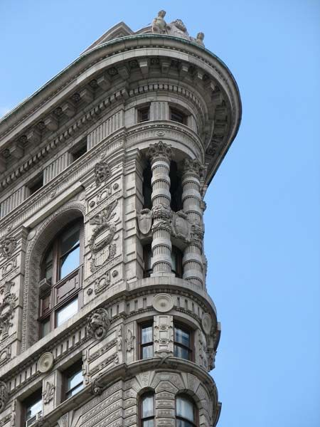 Quick fun read about the interior spaces in The Flatiron Building, NYC