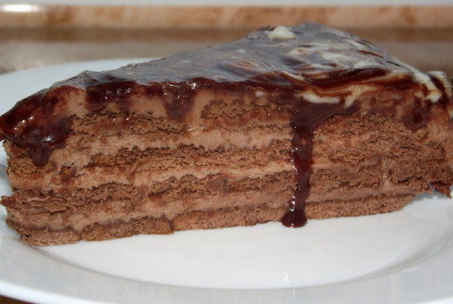 Tort de biscuiti cu mascarpone si ciocolata, fara coacere / CHOCOTORTA de Fetesti