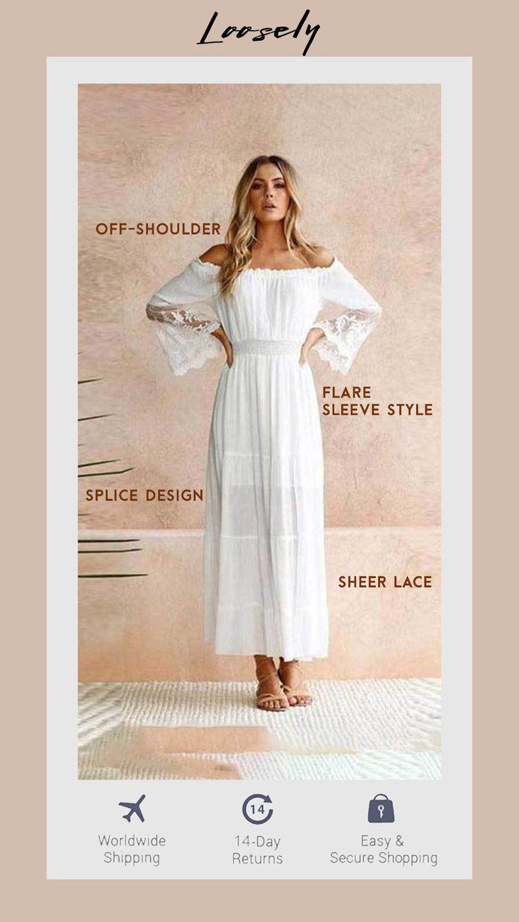 Vintage Lace Maxi Dress 2