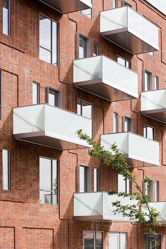 Nimbushuset C.F. Møller. Photo: Torben Eskerod