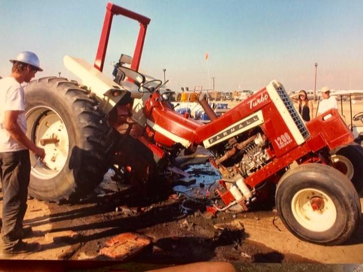 Garden Tractor Pulling Crashes : Best farm accidents images on pinterest tractors