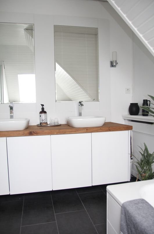 Wonderful Ein Küchenschrank Im Badezimmer | Bad Umbau Mit IKEA METOD Hack | Mimimia |  Schoene Sachen Selber Machen | DIY | Badideen | Pinterest | Ikea Hack, ...