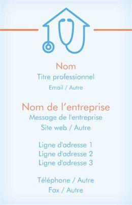 Professions Medicales Cartes De Visite Standard Modeles Et Graphismes Page 5