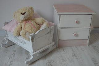 babamaluje.blogspot.com: Szafka w kolorze pure white i antoinette Annie Slo...