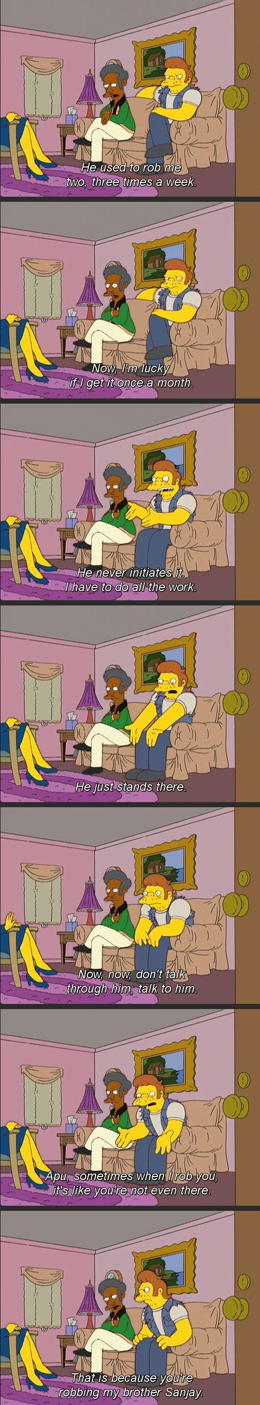 One of my favorite moments in The Simpsons