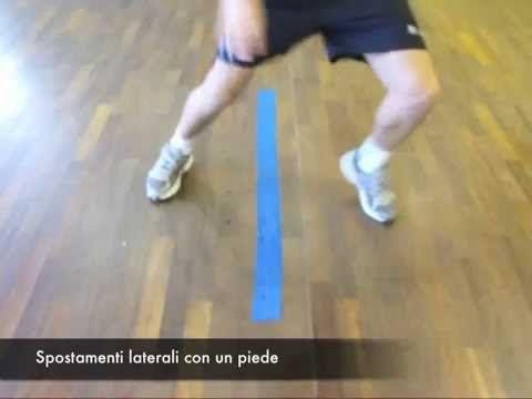 Preparazione Atletica Tennis/Rapidità piedi - Drills For Foot Speed And Tennis Footwork