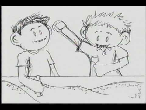 Jeff Chiba Stearns' first animated film created in 2000. Through the use of expressive classical animation, Kip and Kyle captures the excited gestures of two enthusiastic boys playing with toy cars in a sandbox. Recorded in an actual kindergarten classroom, the film was animated straight ahead directly onto paper with only a black ink pen.