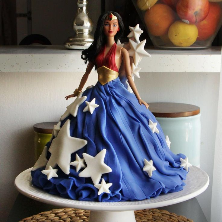 Happy Fourth of July! #WonderWoman #cake