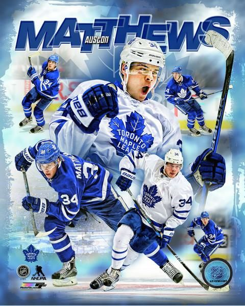 Auston Matthews Toronto Maple Leafs cojohockey.com