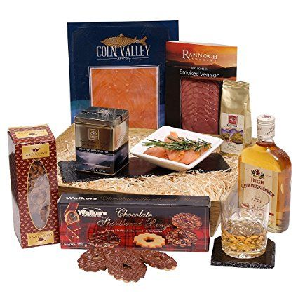The Luxury Scottish Hamper - Send A Taste Of Scotland To Family And Friends - Scottish Food Gifts £55.00