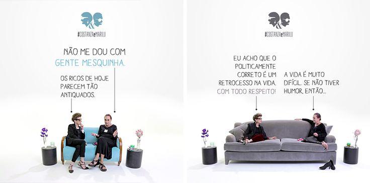 Série Costanza&Marilu estreia na televisão - divertidíssima!