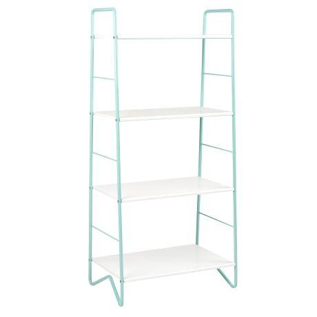 Freedom Furniture -  Ella 4 Tier Shelf in White/Blue  $179