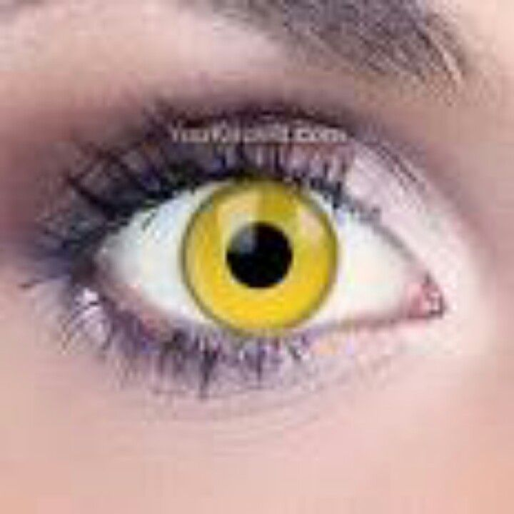 yellow eyes contacts - photo #6
