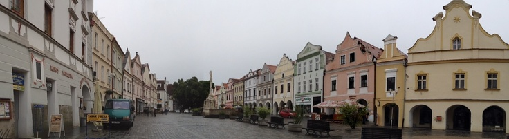 Třeboň panorama