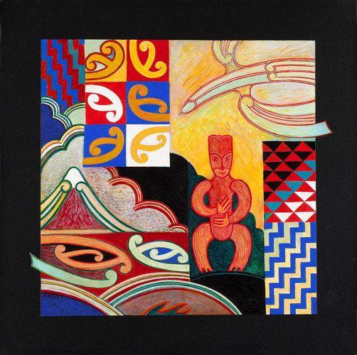 Tama — The Son (2009) by Sandy Adsett, Māori artist (KX90712)