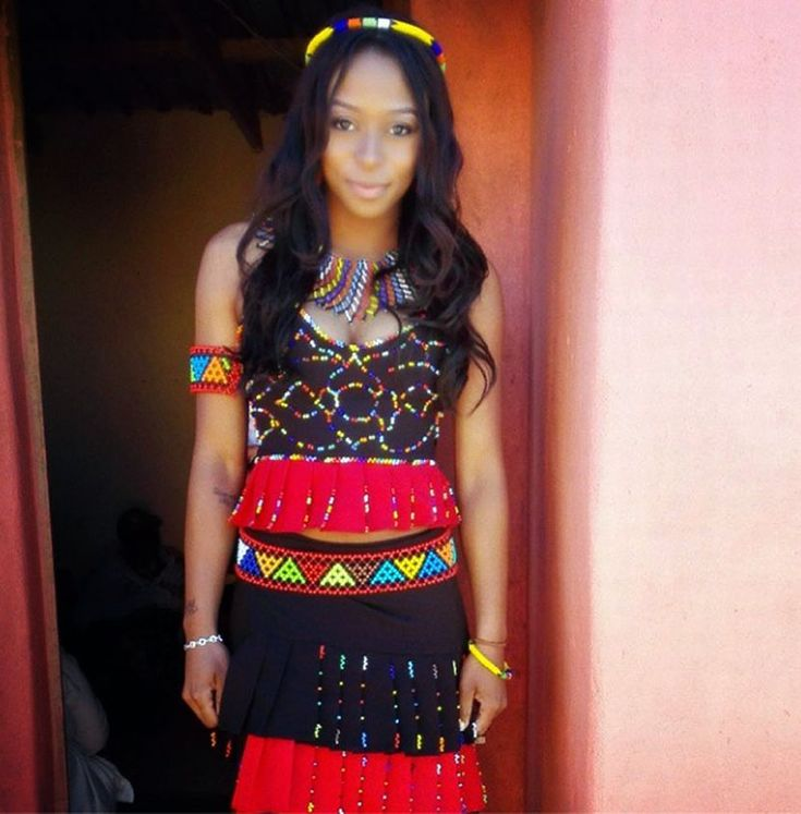 Picture of the day: DJ Zinhle in Zulu traditional wear