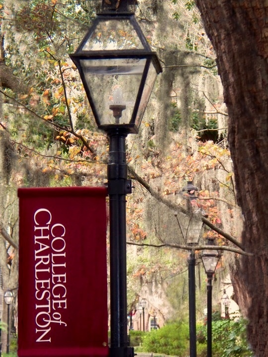 College of Charleston...higher education. #CofC #cougarnation #LiveCHS