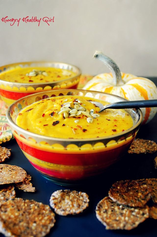 Autumn Squash Soup- A tasty soup with lovely Fall flavors! (Copycat recipe of Panera's!)