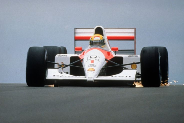Piloted by Ayrton Senna and Alain Prost McLaren's MP4/4, using a 900 hp turbocharged Honda V6, gave the team the first of many Constructors' Championships in 1988