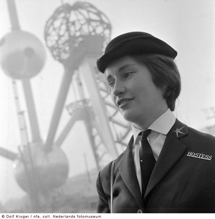 Hostess  Expo 58, Brussel, België (1957)