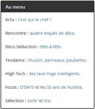 Nouveau numéro en ligne à découvrir sur www.hommedeco.fr