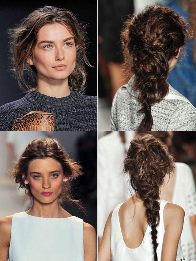 Trenzas Despeinadas/ Messy braids  #braids #trenzas #hairstyle #peinados #cabello
