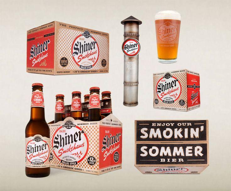 shiner smoke, beer, packaging