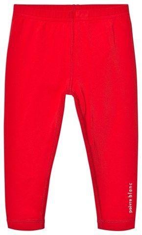 Poivre Blanc Red Base Layer Leggings