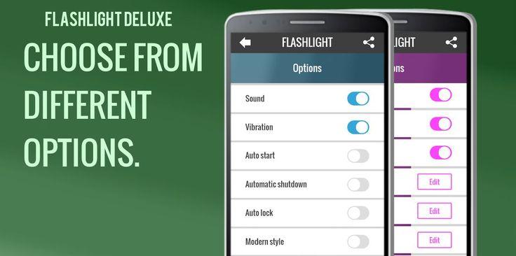 Flashlight Deluxe PRO v1.0.1   Domingo 10 de Enero 2016.  Por: Yomar Gonzalez   AndroidfastApk  Flashlight Deluxe PRO v1.0.1 Requisitos: 2.3.3 o superior Descripción: Con nuestra aplicación puede utilizar su dispositivo de iluminación de flash como si fuera una linterna. Basta con pulsar el botón de encendido. Con nuestra aplicación puede utilizar su dispositivo de iluminación de flash como si fuera una linterna. Basta con pulsar el botón de encendido.Por qué utilizar nuestra linterna y no…