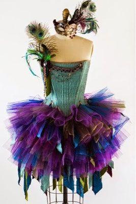 IDEAS DE DISFRACES ORIGINALES CON TUTÚ. - fashion blogger, trends, recipes, diy, handmade                                                                                                                                                                                 Más