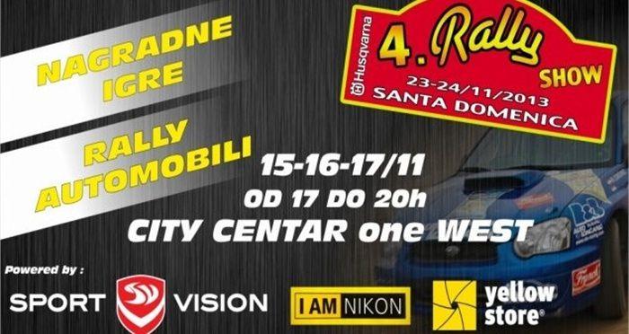 4. Rally show Santa Domenica 2013. http://www.fleet-rent.com/hr-HR/Novosti/Novost/14-stu-2013/4-Rally-show-Santa-Domenica-2013-.html?bmlcMTQ5